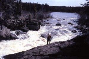 3rd falls from pipe lake pump hse 1969