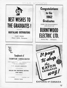 Burntwood electic advertising 1962