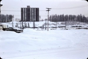 Highland towers winter 1971