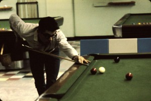 Pool hall under strand 1960s