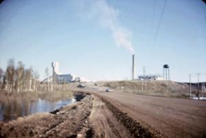 T1 mine road 1965