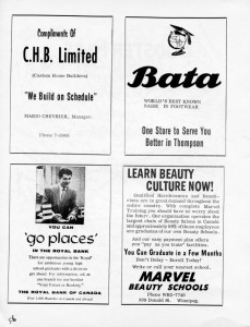 advertising bata shoes 1962