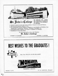 advertising monarch lumber 1962