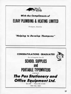 advertising plumbing 1962