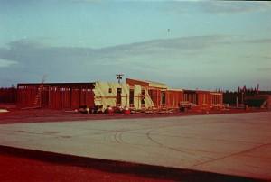 airport under constructin