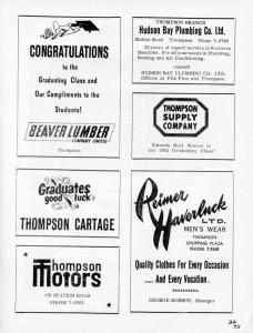 beaver lumber advertising 1962
