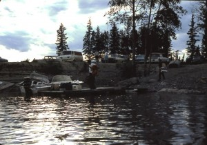 burntwood river boat launch 1965