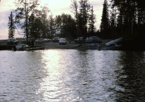 burntwood river boat launch 1966