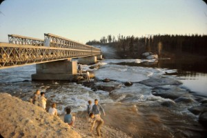 burtwood river people playing 1960s