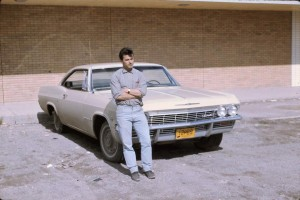 cool inco guy with car 1965