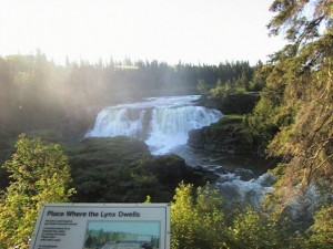 falls in the summer