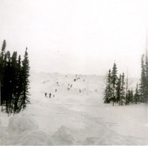 gavel pit 1962 before ski hill