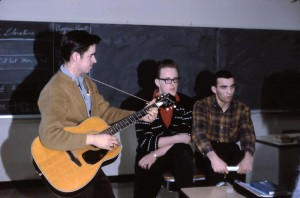guitar playing in classroom 64-65