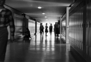 hallway high school 1962