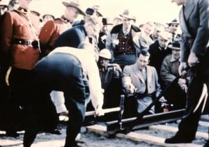 last spike 1957