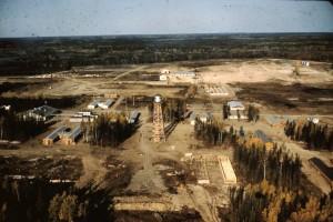 minesite construction 1957
