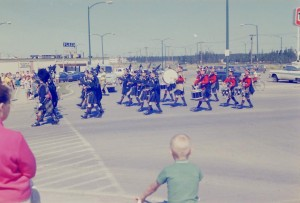 nickle days parade 1960s color