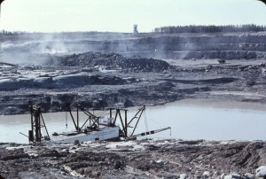 open pit dredge 1969