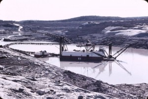 open pit dredge 1969 pipelake