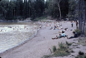 paint lake beach 1969 color