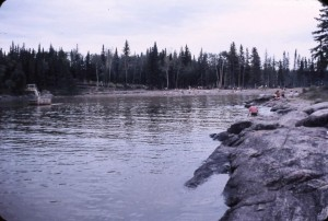 paint lake beach  distant 1969