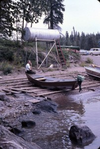 paint lake dock 1969