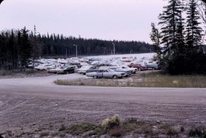 paint lake marina parking 1969