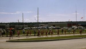 parade batons 1966