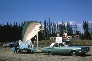 parade fish float 1966