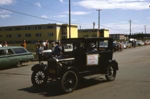 parade rotary car 1966