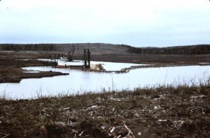 pipe lake dredge 1969