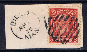Bield 1935 postage stamp