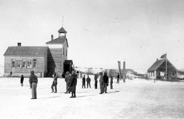 Bield school in 1917
