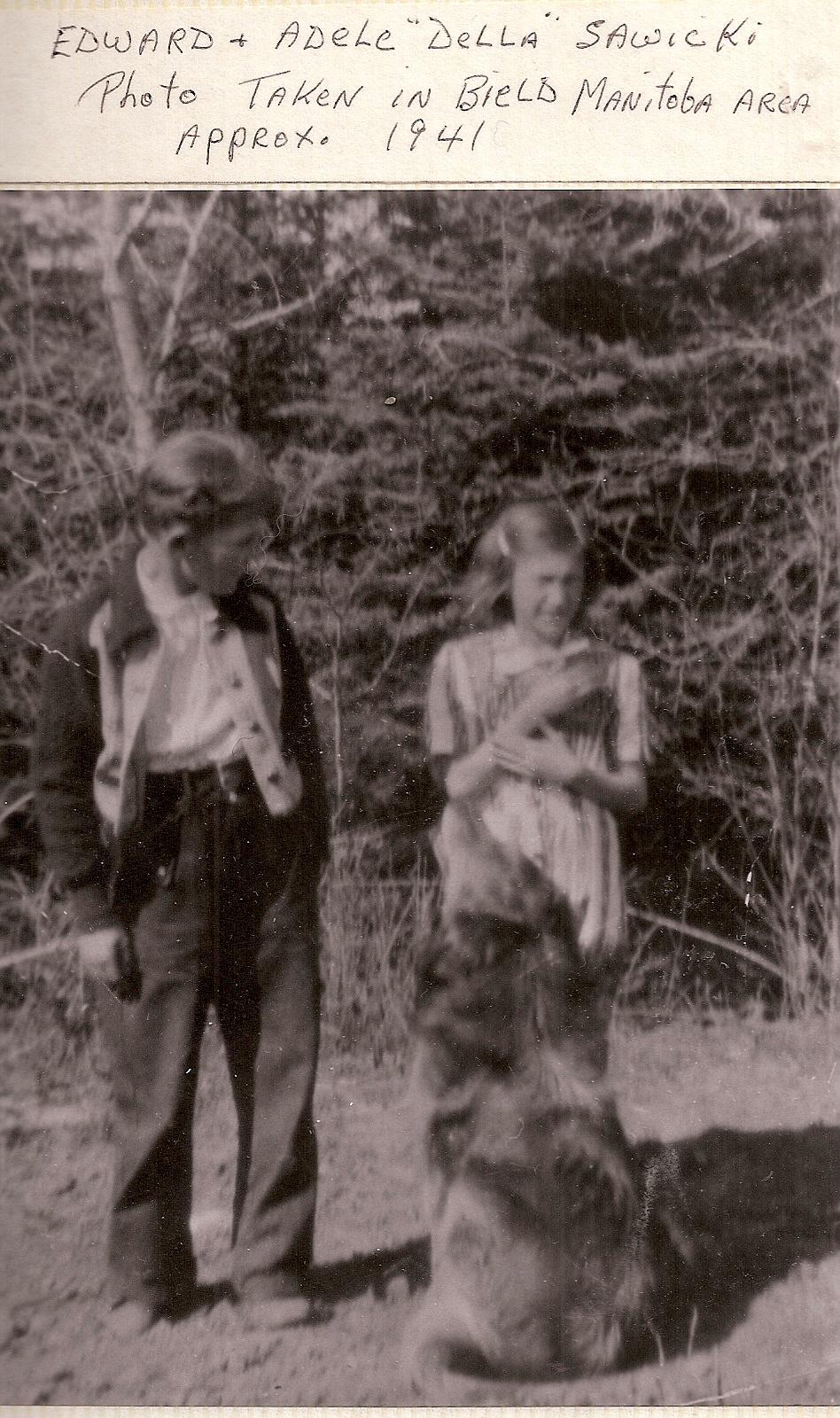 ed and della -Leons kids-1941