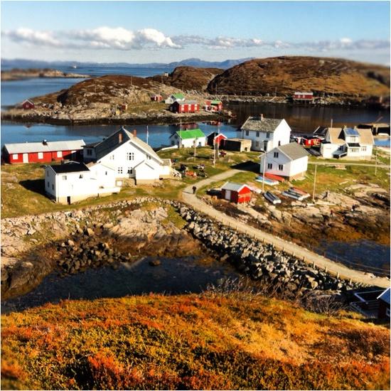 fishing village in Namsos