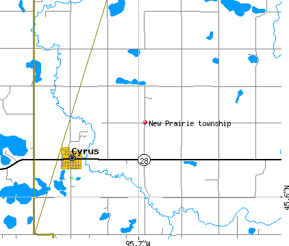 map of cyprus and new prarie twnshp