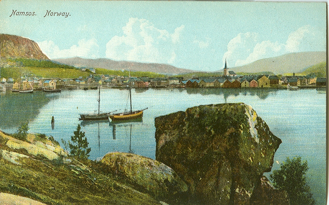 namsos in 1900