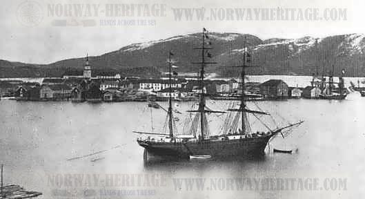 namsos village in 1800