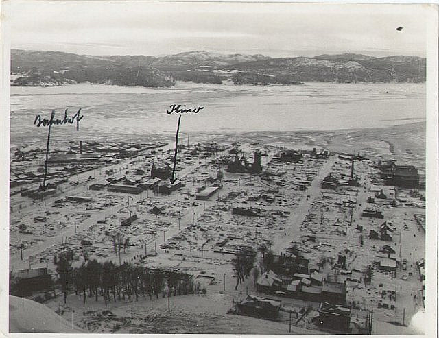 old arial pic of namsos