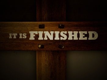 It Is Finished - Cross