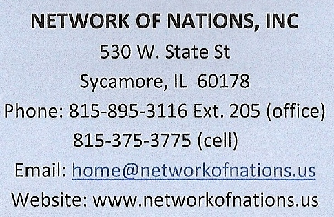 Contact info of NofN 2013
