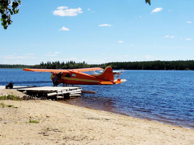 air plane at cat lake