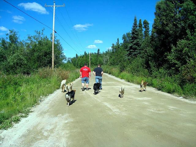 walking in cat lake