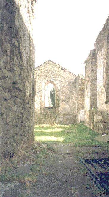 castle Nogent le Rotrou interior