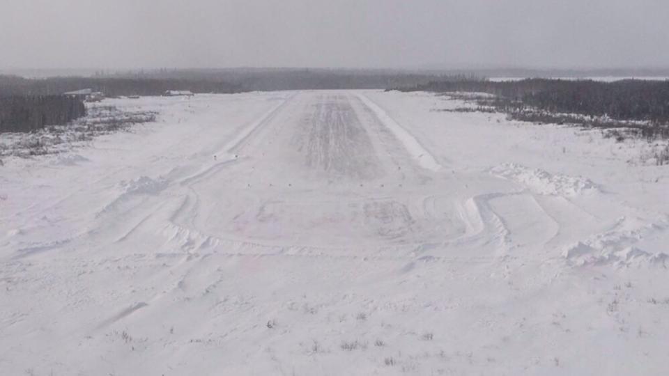 1-cat lake runway