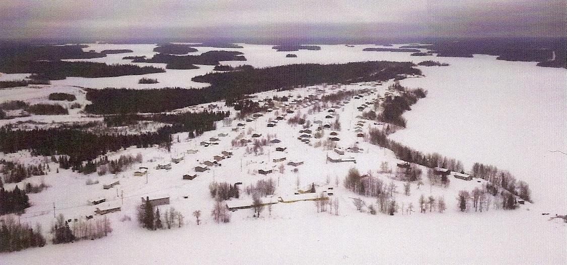 arial view of cat lake