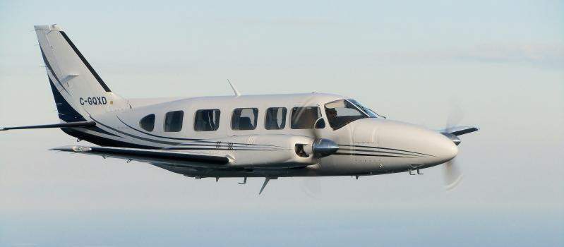 skycare plane in the sky