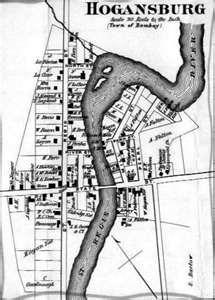 Hogansburg map 1876