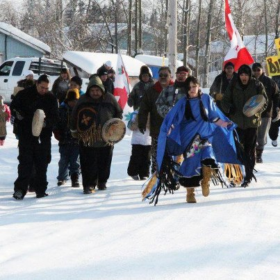idle no more dancers in winter 2013