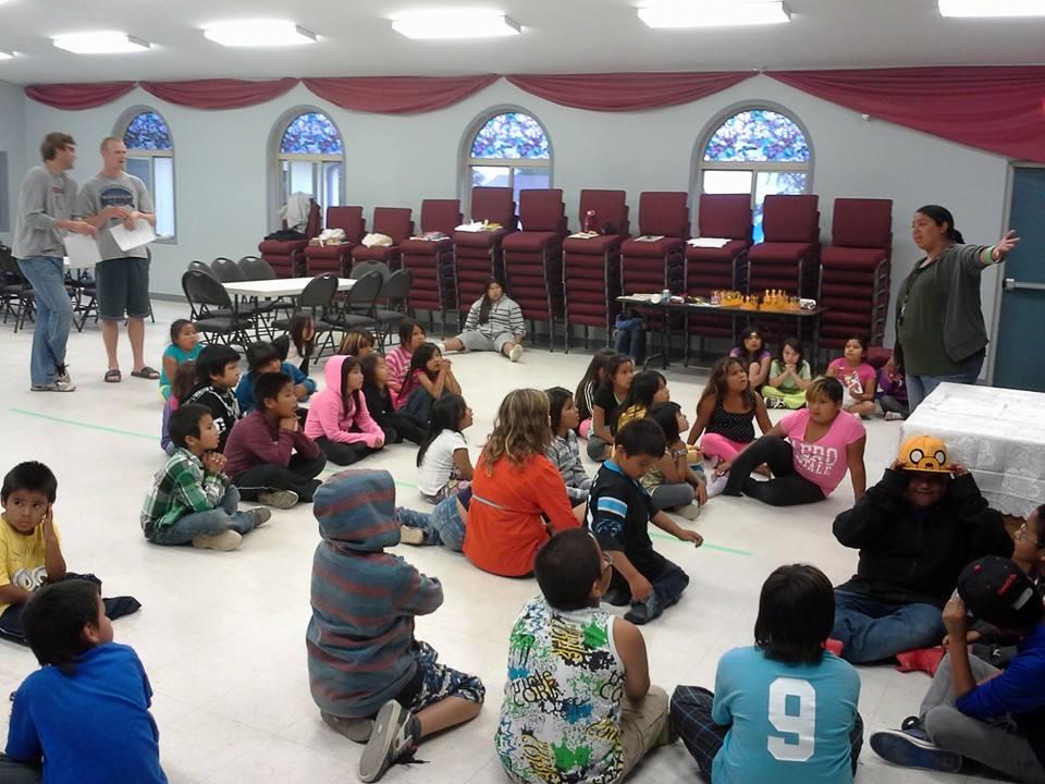 inside a NEFC church 2014